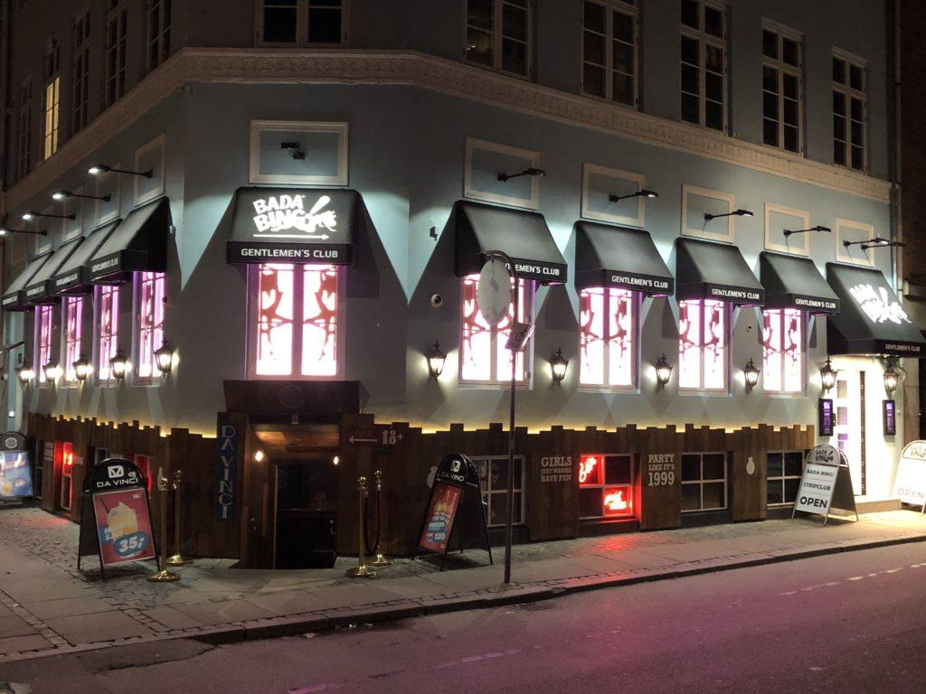 Bedste Gentlemens club i København